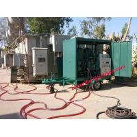Buy cheap Single-axle Trailer Vacuum transformer oil processing unit purifier electric from wholesalers