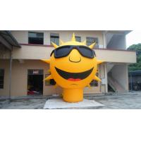 China inflatable product model replica / Exciting inflatable sun / PVC Inflatable giant sun games wholesale