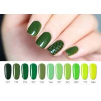 China Long Lasting Pure Color UV LED Gel Nail Polish No Nicks And Acid MSDS GMP wholesale