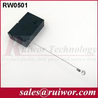 China Market Purchase Retractable Retail Security Cable With Ring Terminal 7.1x4.5x2.1 Cm wholesale