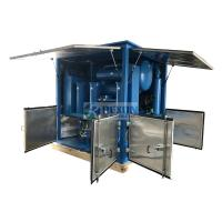 China with Closed Doors Transformer Substation Used Transformer Oil Purifier 9000LPH on sale