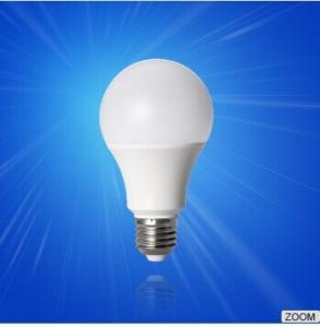 China 7w Pure White LED Energy Saving Bulbs 580lm 80 Ra with PC Shade wholesale