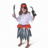 China Pirate Set, Made of 100% Polyester, Suitable for Children wholesale
