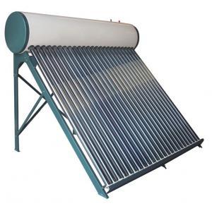 China Vacuum tube non pressure compact solar water heater wholesale