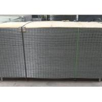 China 4X4 Electro Galvanized Welded Wire Fence Panels For Buliding , Wear Resistant wholesale