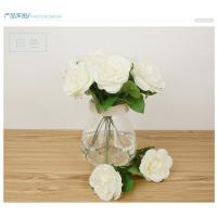 Wholesale hot sale artificial rose silk flowers home party wedding decoration flower briday bouquet from china suppliers