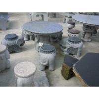 China Landscaping Outdoor Stone Tables and Benches wholesale