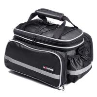 China 25L Retro Oxford Leisure Travel Bag Bicycle Carrier For Night Rider Safe wholesale
