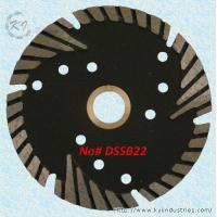 China Diamond Multi-segment Turbo Saw Blade for Abrasive Materials and Stone - DSSB22 wholesale