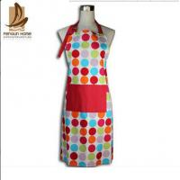 China Custom Colored Home Cooking Cotton Kitchen Apron 70 x 80cm 250gsm Bbq Apron on sale