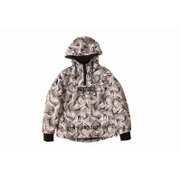Quality Camo Print Coats And Jackets Clothing 100% Polyester Army Print Jacket Mens for sale