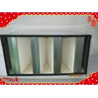 China 592x287x292mm  galvanized frame combined V-cell filter for air conditioner wholesale