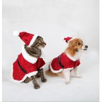 China Red Christmas Dog Clothes Winter wholesale