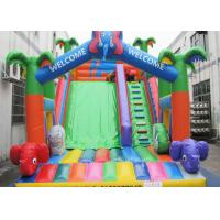 China Customized Inflatable Castle Slide CE Certified Children Favourite Playing Game on sale