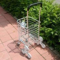 China Shopping Cart, Foldable, Used for Groceries and Toys on sale
