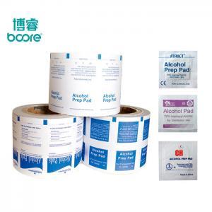 China 83GSM  Alcohol  Prep  Pad  Aluminum  Foil  Paper on sale