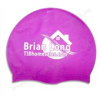 China waterproof swim caps and funny bathing cap wholesale