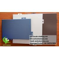 China Customized Aluminium Wall Cladding Panels For Building Facade Powder Coated wholesale