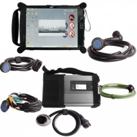 Quality [ No Tax] Original MB C5 Compact 5 Star Diagnosis Tool With WiFi V2018.05 Plus EVG7 Diagnostic Controller for sale