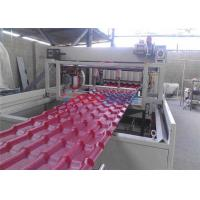 Wholesale PVC Plastic Roof Tile Roll Forming Roofing Machine 0.3 - 3 m / min Automatic from china suppliers