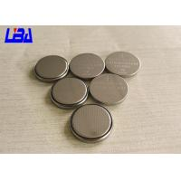 China Customized CR2032 3V Lithium Button Batteries High Energy Density wholesale
