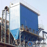 China Easy Installation  Cement Dust Collector Cartridge Filter Steel Sub Structure Design on sale