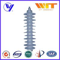 China 33KV Gray Polymer Antenna Lightning Surge Arrester Electrical Equipment Protection on sale