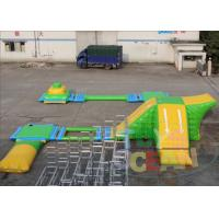 China Lake Inflatable Water Park M2 Floating Water Park 0.90mm PVC ASTM wholesale