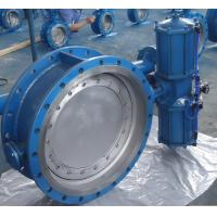 Quality Pneumatic Operated 4 Inch Eccentric Butterfly Valve Flange Type ANSI 300 LB for sale