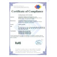 Shenzhen Forrinx Electronics Co., Ltd Certifications