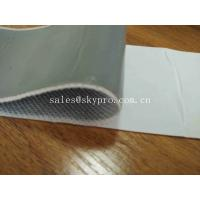China Pure Molded Rubber Products Butyl Rubber Tape For Lapping Between Steel Plates wholesale