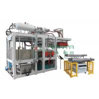 China Green Automatic Paper Plate Making Machine / Disposable Plates Making Machine wholesale