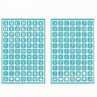 China Self-adhesive Templates, Reusable Self-adhesive Stencil for Art, Scrapbooking and Collage wholesale