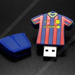 China Clothes pen drive soccer clothing series flash drive bulk usb memory stick 2.0 USB Stick on sale