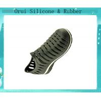 China Safty silicone  cool shoes popular in seaside country wholesale