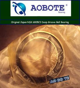 Quality Original Japan NSK Deep Groove Ball Bearings 6805VVC3 High Precision for sale