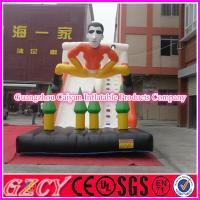 Buy cheap Large Inflatable Snowman Slide For Events from wholesalers