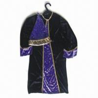 China Costume with Hat, Made of 100% Polyester, Available in Various Sizes and Colors wholesale