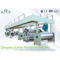 China Packing Single face Corrugated Paperboard Production Line Corrugating Machinery wholesale