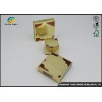 China Coated Paper Cosmetic Packaging Box Embossing Finish For Skin Care Products wholesale