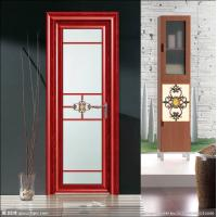 China Waterproof Hinge Aluminium Casement Door Electrophoresis Champagne ISO9001 / CE wholesale