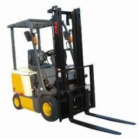 China Electric Forklift, Maximum Lift Capacity of 1500kg, DC Electric Motor wholesale