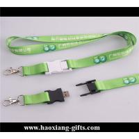 China promotional gift 20*900mm green color sublimation polyester printed lanyard wholesale