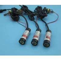 China output power adjustable 630nm 5mw red line laser module wholesale