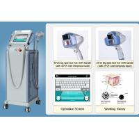 Vertical Permanent Laser E-Light IPL RF For Hair Removal / Skin Rejuvenation