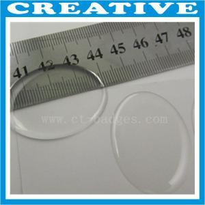 China 40mm x 30mm custom clear epoxy sticker wholesale