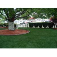 China  37mm Garden Artificial Grass  Height Double Stem Shape  for sale