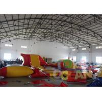 China Giant Floating Inflatable Amusement Park Inflatable Sport Games For Water Play wholesale