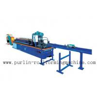 China PLC Control System High Speed Light Stud Track Roll Forming Machine wholesale