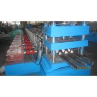 Quality 2 Waves Highway Guardrail Roll Forming Machine Fually Automatic Control By for sale